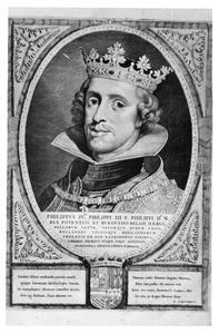 Portret van Philips IV van Habsburg (1605-1665)