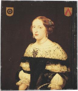 Portret van Gudula van der Wielen (1650-1680)