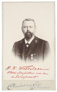 Portret van Herman Karel Wetselaar (1872/1873-1932)