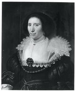Portret van een vrouw, genaamd Suzanna Hoefnagel (....-1633)