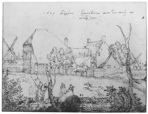 Boerderij in de omgeving van Haarlem