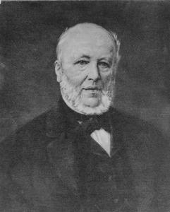 Portret van Everhardus Johannes Potgieter (1808-1875)