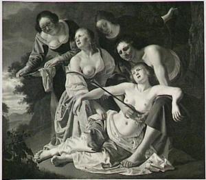 Cephalus doodt per ongeluk Procris [Ovidius VII: 661]