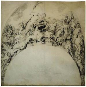 Simson verslaat de Filistijnen met een ezelskaak (Rechters 15:15-16)