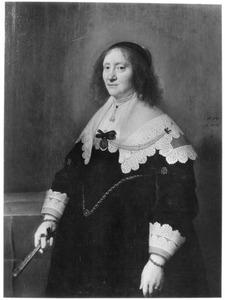 Portret van Aletta Brasser (1579-1655)