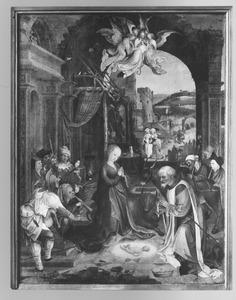 Geboorte van Christus met de aanbidding van de herders
