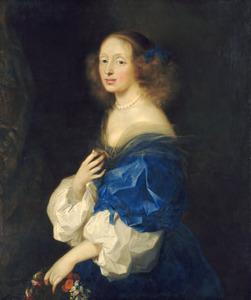 Portret van gravin Ebba Sparre (1629-1662)