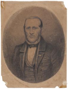 Portret van Arnold Adriaan Buyskes (1801-1856)