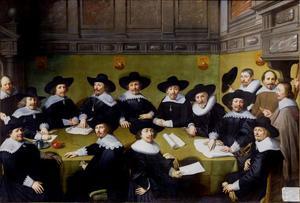 Groepsportret van de Haagse magistraat, 1636