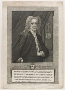 Portret van Pieter de la Ruë (1695-1770)