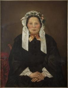 Portret van Maria Angela Covers (1807-1888)