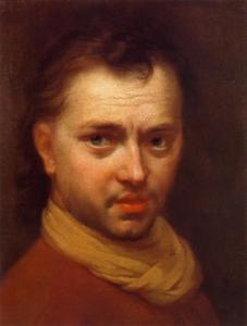 Portret van een jonge man, vermoedelijk een zelfportret