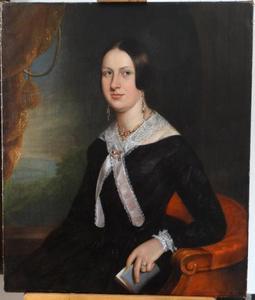 Portret van Hendrikje (Heijntje) Heijnis (1828-1892)