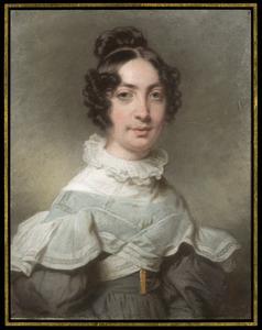 Portret van Nina Julia Tutein Nolthenius (1812-1890)