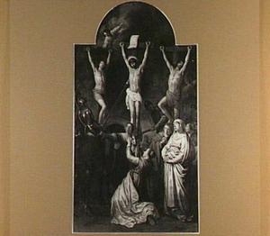 Kruisiging van Christus: doorboring met de lans