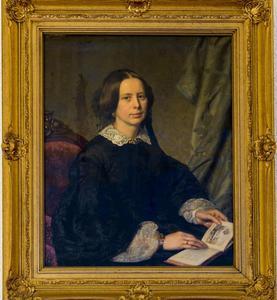 Portret van Agatha Clara Ebeling (1821-1867)