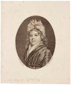 Portret van Anna Maria Ebeling (1767-1812)
