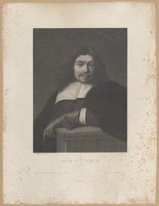 Portret van Jacob van Campen (1596-1657)