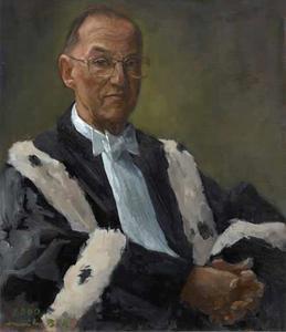 Portret van Sibrand Karel Martens (1930-2001)