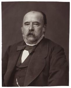 Portret van Jacobus Everts (1817-1889)