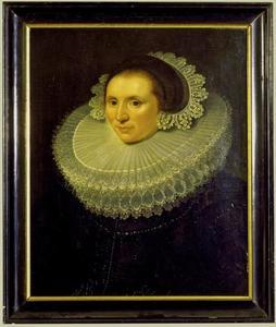 Portret van Catharina van der Dussen (1587-1651)