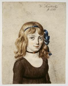 Portret van een meisje, waarschijnlijk Johanna Maria Parvé (1785-1861)