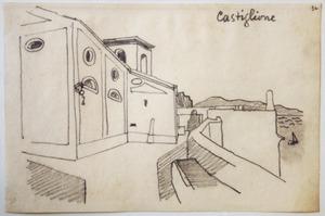 Gezicht op Castiglione