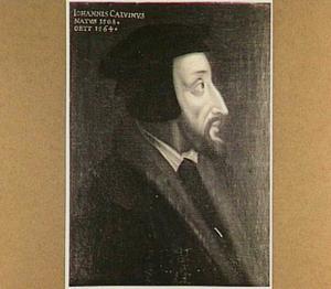 Portret van Johannes Calvijn (1509-1564), protestants hervormer