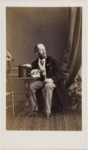 Portret van een man, waarschijnlijk Donald Jacob Mackay (1839-1921)