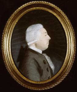 Portret van Bernardus Johannes Hoff (1733-1801)