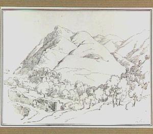Berglandschap in de omgeving van Subiaco