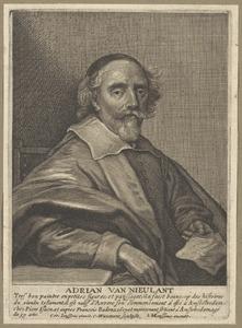 Portret van Adriaen van Nieulandt (....-1658)