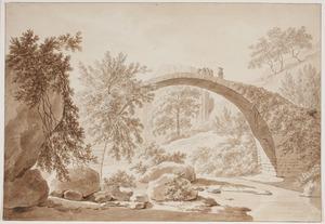 Boogbrug bij Cività Castellana