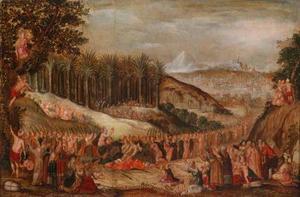 De intocht van Christus in Jerusalem