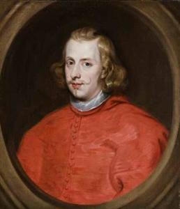Portret van de kardinaal-infant Ferdinand, aartshertog van Oostenrijk