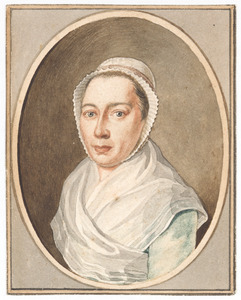 Portret van Dina Josina van Deventer (....-1797)