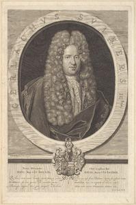 Portret van Gerlachus Suikers (1669-1717)
