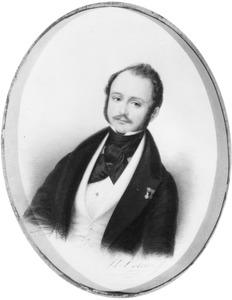 Portret van Charles Theodore Jean de Constant Rebecque (1805-1870)