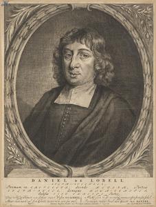 Portret van Daniël de Lobell (....-1687)