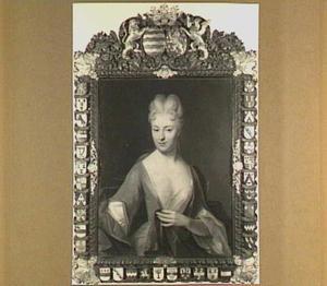 Portret van Johanna Charlotta van Renesse, vrijvrouwe van Lockhorst, 's Heeraartsberg en Bergambacht (1659-1723), echtgenote van Jan Louis van Hardenbroek