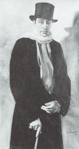 Portret van Jacobus Johannes Laurens Reule (1879-1954)