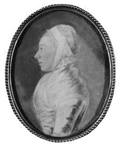 Portret van Enna Hillegonda Geertsema (1724-1795)