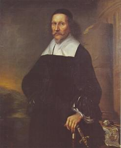 Portret van Georg Stiernielm (1598-1672)