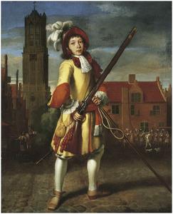 Portret van een jonge schutter