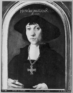 Portret van Jan van Eden (?-1529)
