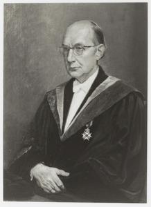 Portret van Donald Johan Kuenen (1912-1995)