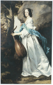 Portret van Isabella Rich (1623-?), vrouw van Sir James Thynne