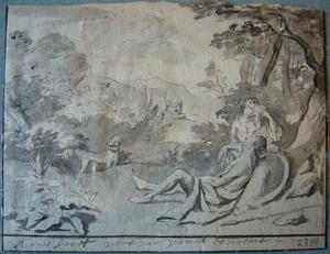 Venus treurt om de dood van Adonis