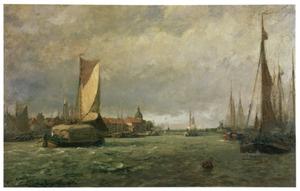 De Maas bij Dordrecht