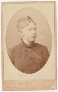 Portret van Anna van der Mark